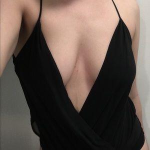 Black bodysuit Bebe